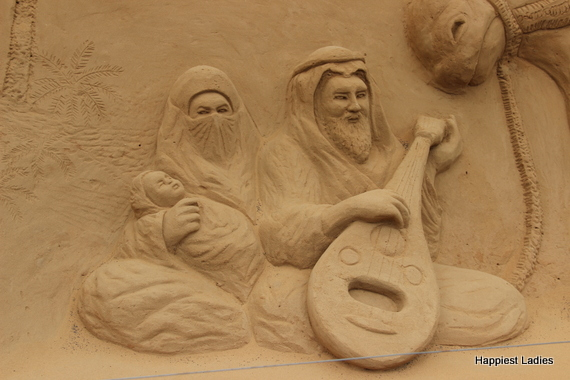 Islamic culture sand sculpture mysore