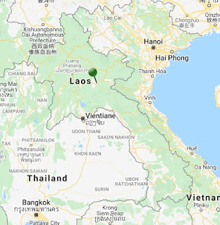 pin point map phonsavan laos