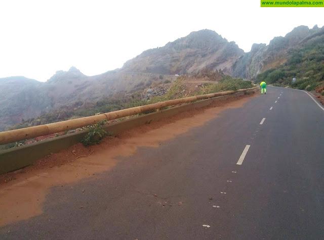 El Cabildo Insular de La Palma informa de la reapertura al tráfico de la carretera LP-4 Roque de Los Muchachos