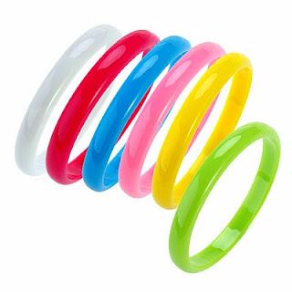 Neon Plastic Bracelets
