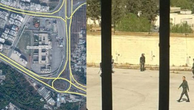 Tahanan Rezim Syiah Assad Rebut Penjara Pusat Hama