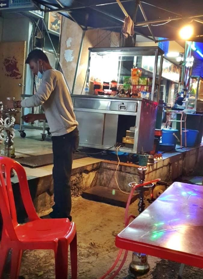 Restoran Sri Bidara shisha