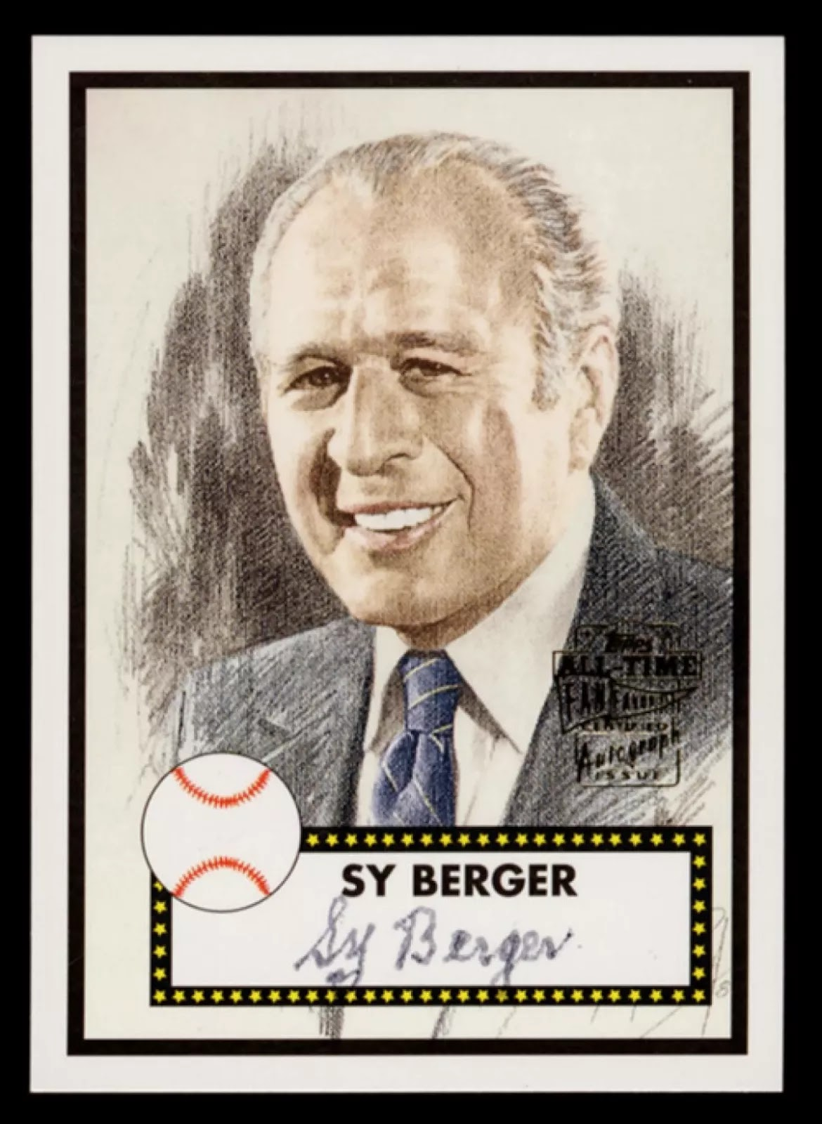 Sy Berger, creator of the modern baseball card