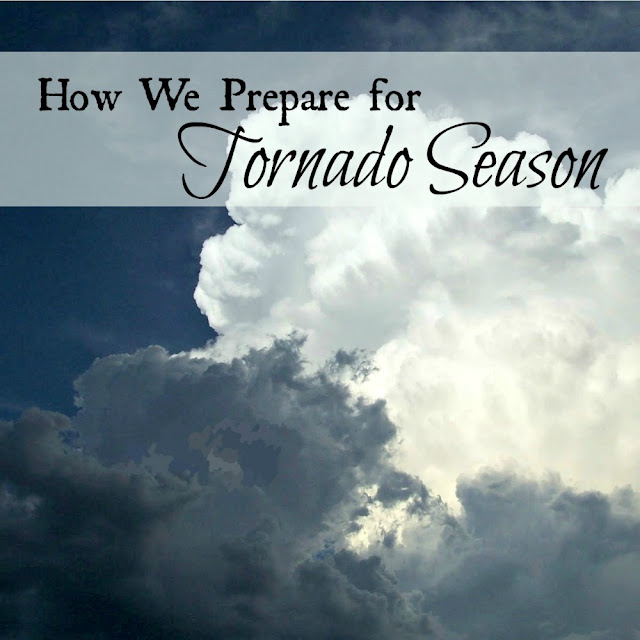 Suggestions for preparing for severe spring storms and tornado season.