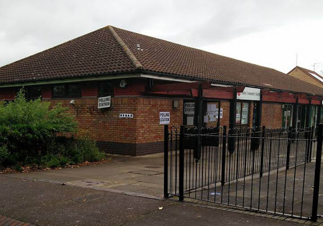 Polling station in Matley, Orton Brimbles, 1.5 miles from my home