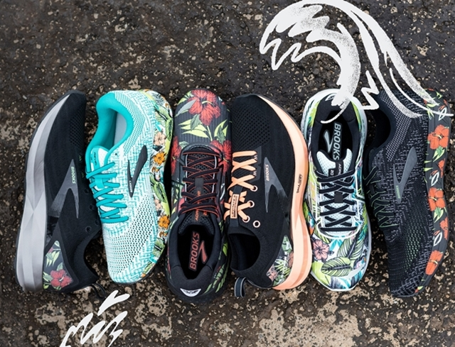 BROOKS Tropical Collection, Brooks, Levitate 3, Adrenaline GTS 20, Revel 3, Fitness, Running Shoes,