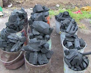 How Father Of 3 Makes N200,000 Monthly From Charcoal Business In Kaduna