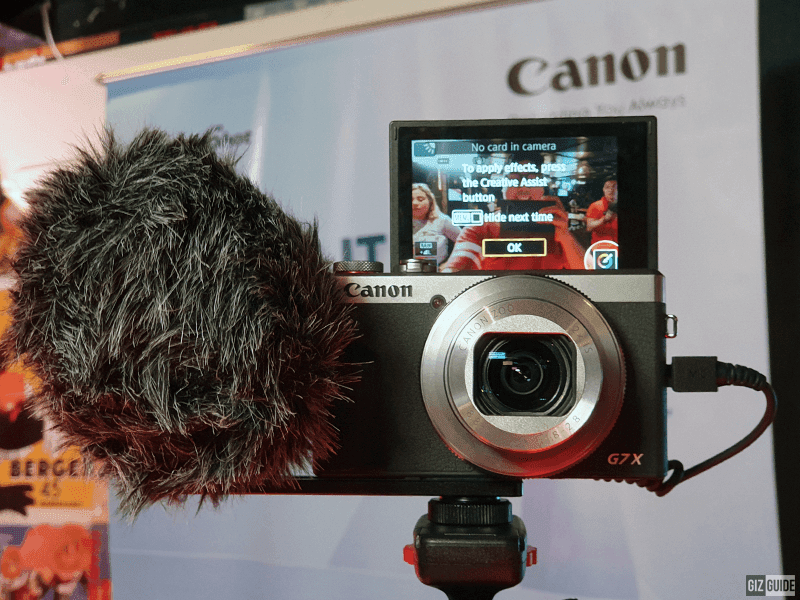 Canon G7X Mark III Package A