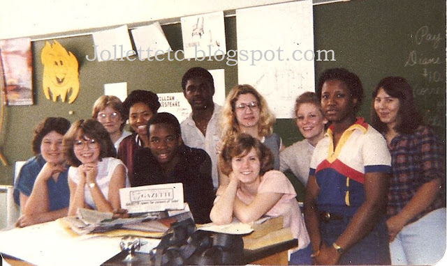 Norcom Gazette Staff 1981 https://jollettetc.blogspot.com