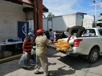 Apoya PEMEX al Sector Pesquero Ribereño de Carmen, Campeche