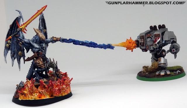 Be'lakor VS Dreadnought Grey knight