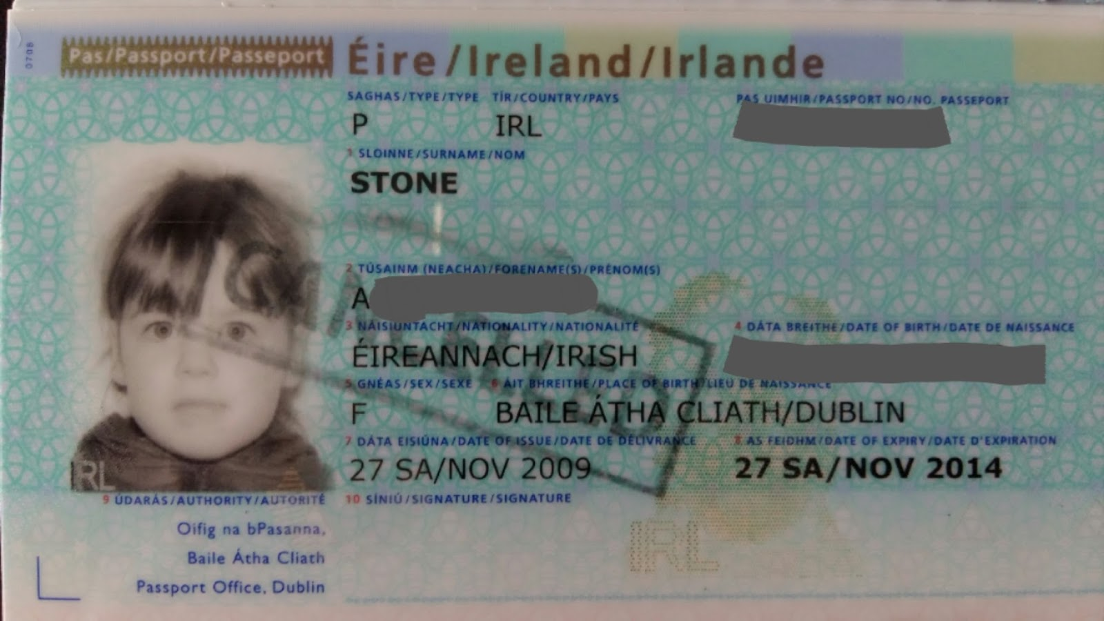 Cherrysue Doin The Do How To Get Babys First Passport In Ireland
