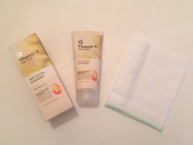 Superdrug Vitamin E Hot Cloth Cleanser