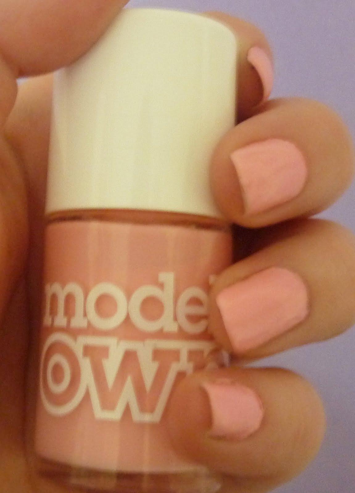 NOTD – Models Own 'Pastel Pink'