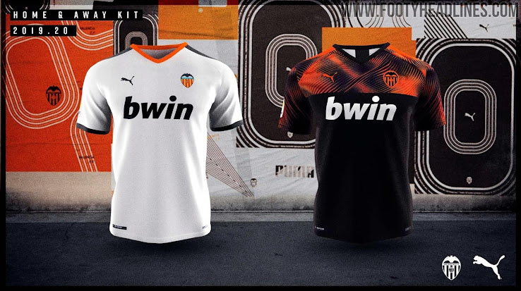newest 93b0c c6a83 Valencia 19-20 Home & Away Kits Released - Footy Headlines
