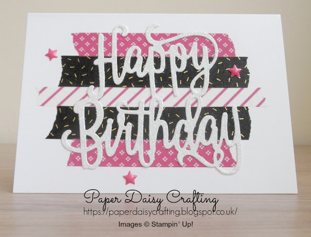 Buy the Happy Birthday thinlits die in my online shop Stampin' Up!