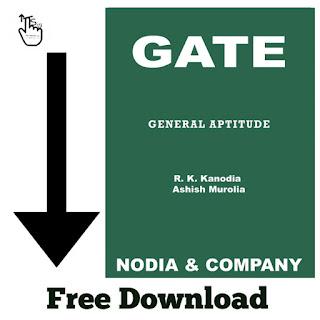 GATE Aptitude Book