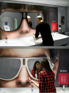ochelari de soare publicitate
