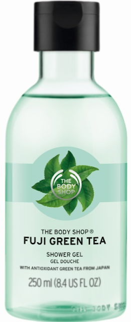 The Body Shop Fuji Green Tea Shower Gel 250ML