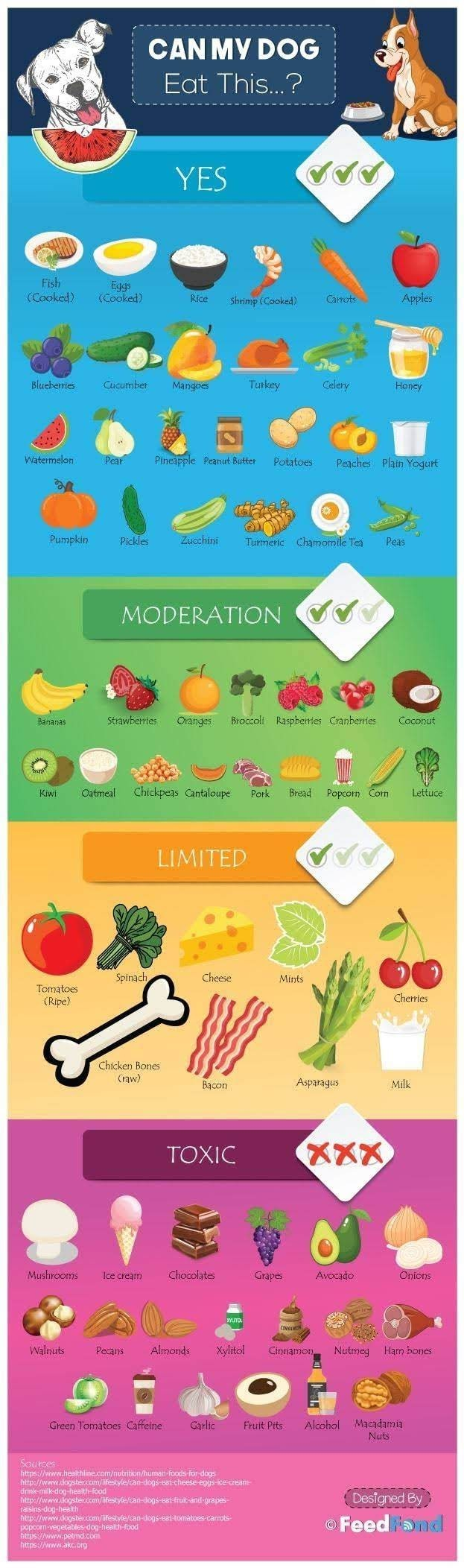 My dog can eat that #infographic
