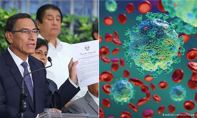 Perú en estado de emergencia por 15 días y el cierre de las fronteras por coronavirus
