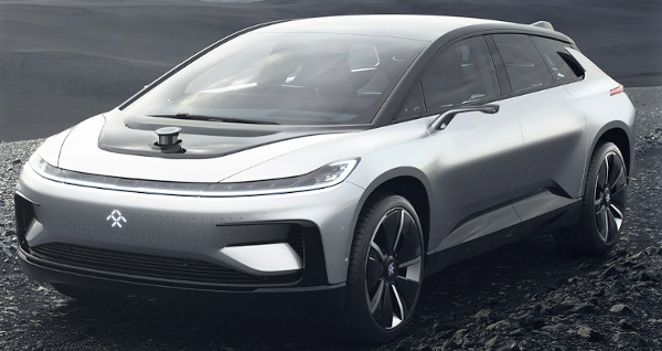 Faraday Future FF91 electric Super car