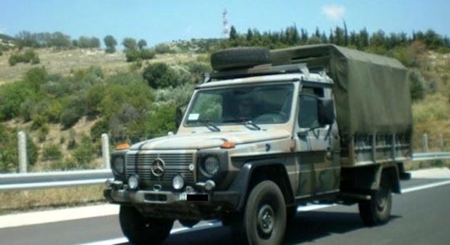 Σουφλί: Τροχαίο με στρατιωτικό όχημα - Δύο τραυματίες