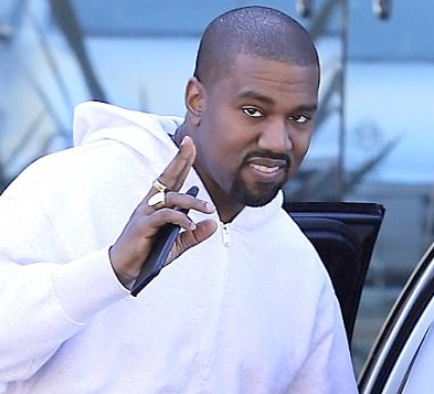 Is Kanye West losing a little of his swag? (photos)