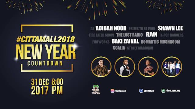Where Will You Be, Counting Down To The New Year 2018?