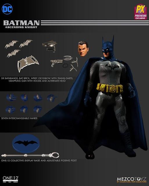 """Preview de One:12 Collective Batman """"Ascending Knight Previews Exclusive"""" - Mezco"""