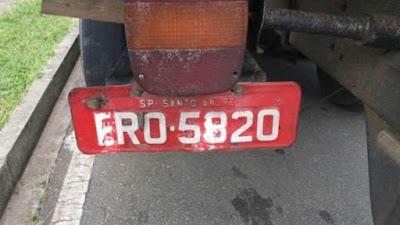 caminhoneiro é preso por adulterar placa.