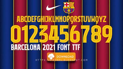Font Barcelona 2021
