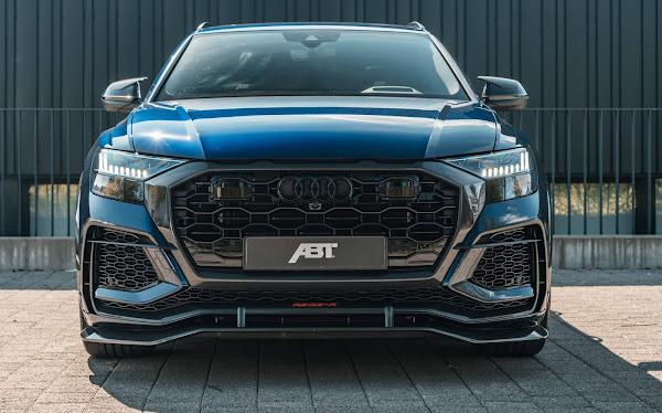 Audi RS-Q8-R de 740 cv, rodas 23 e rebaixado