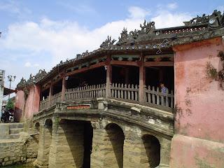 Giapponese Ponte Coperto a Hoi An, Vietnam