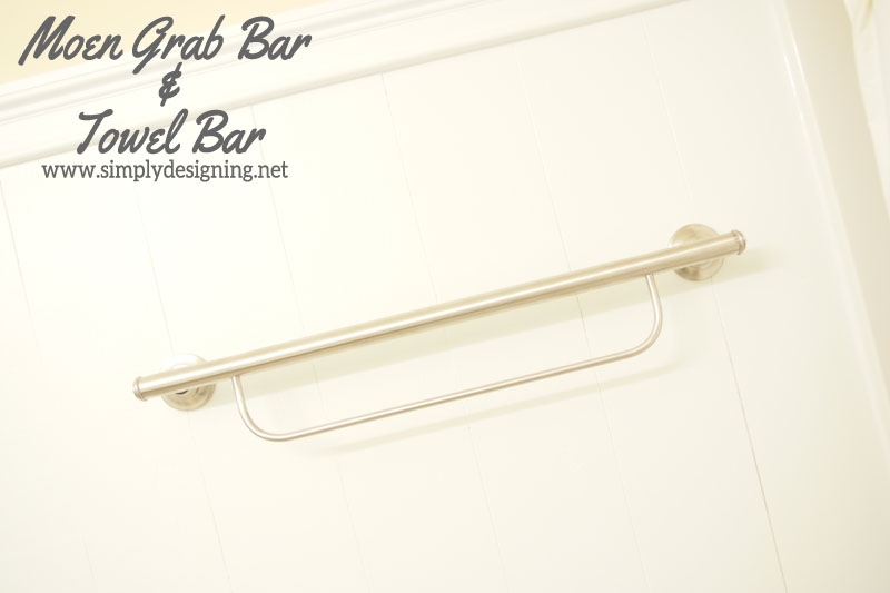 How to Install a New Towel Grab Bar and Towel Bar | #diy #bathroom #bathroomremodel #remodel