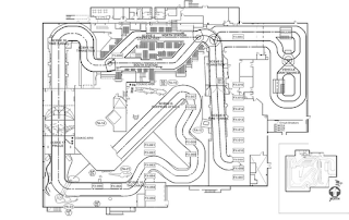 Amusement Authority: Dinosaur Ride Layout