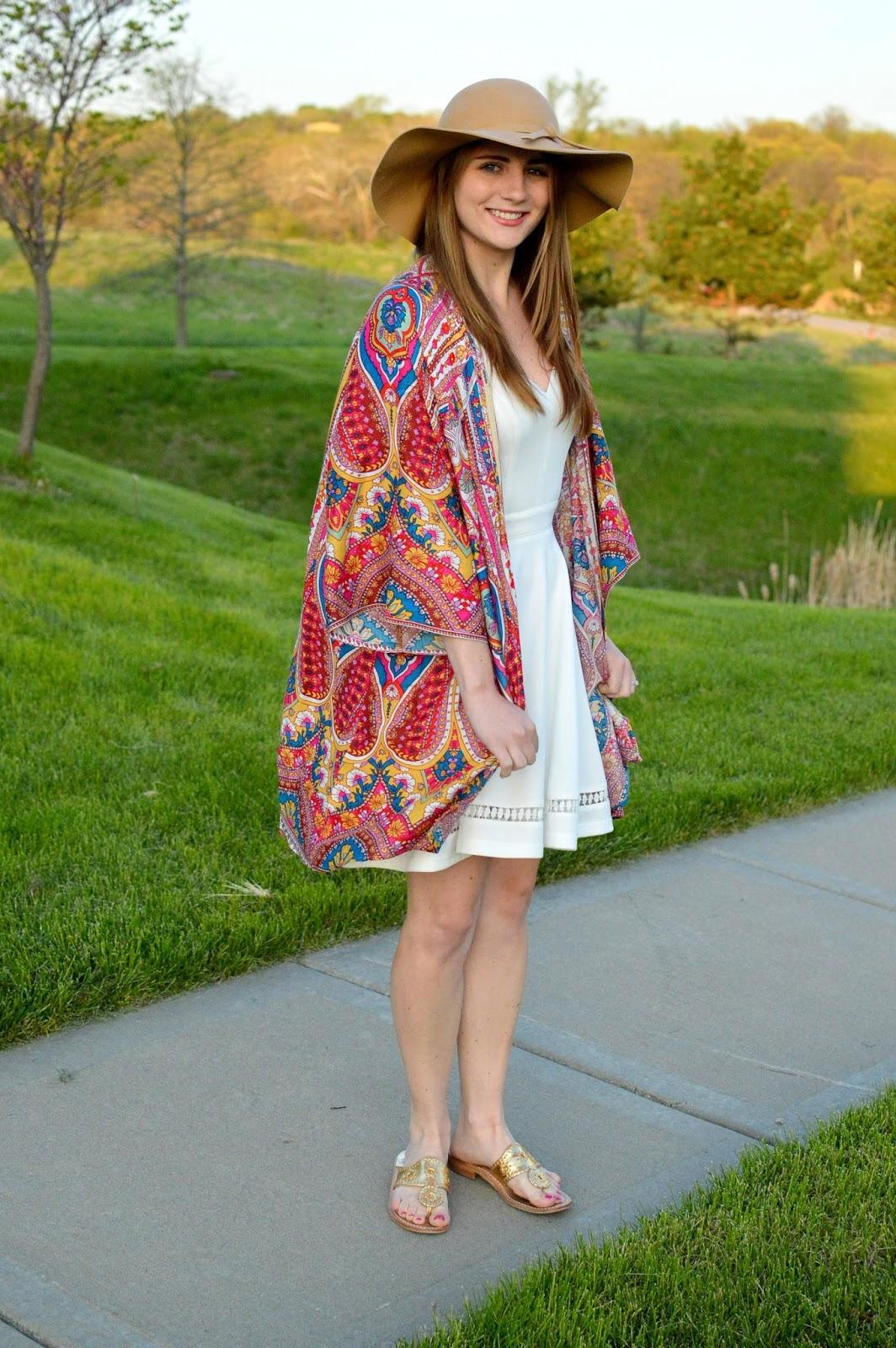 new ways to style a kimono