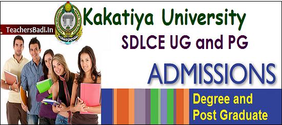 KUSDLCE, UG PG Admissions, SDLCE