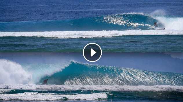 2 WAVES - 1 ISLAND