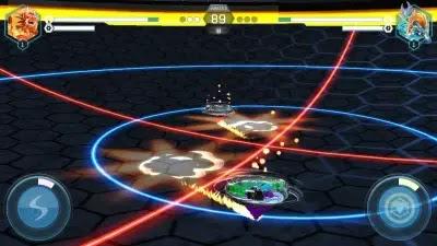 تحميل لعبة beyblade burst app مهكرة