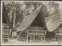 Foto Rumah Batak Tempo Dulu