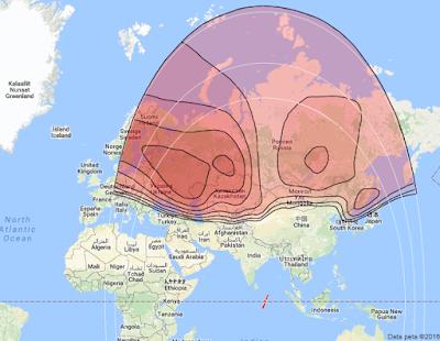 Satelit Intelsat 15 85.2°E KUBand