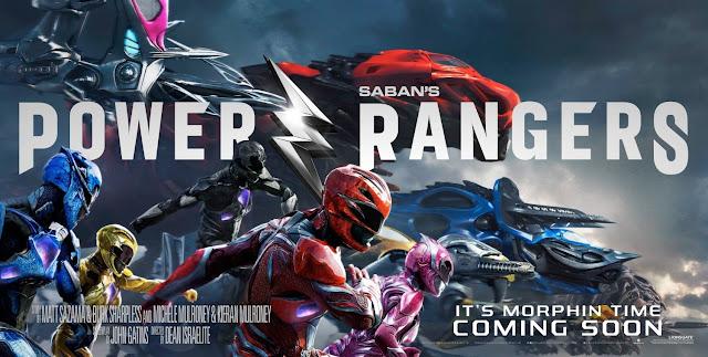 posterul filmului Power Rangers