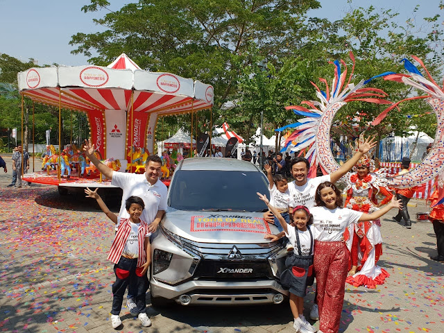event tons of happiness mitsubishi hadir di 9 kota indonesia