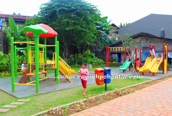 Playground outdoor besi tematik