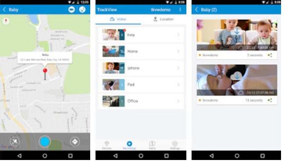 cara menggunakan trackview di android 2021