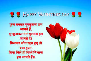 Valentines Day Shayari In Hindi - वैलेंटाइन डे शायरी