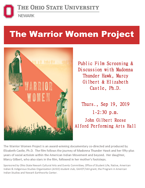 The Warrior Women Project Flyer (PDF available).