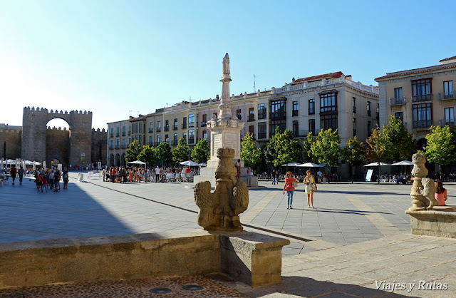 Plaza de Santa Teresa de Avila