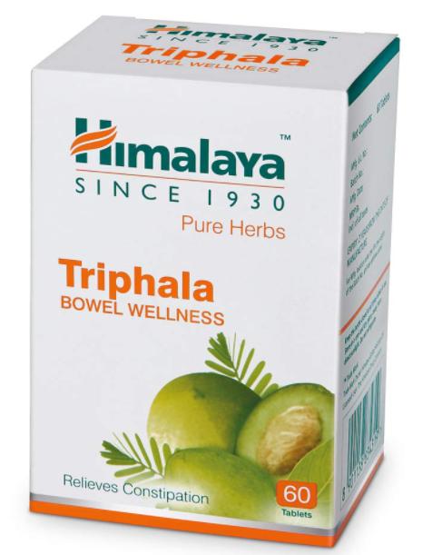 Himalaya Wellness Triphala Bowel Wellness |Relieves constipation| - 60 Tablet